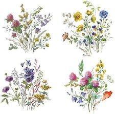 Meadow Wild Flower Select-A-Size Waterslide Ceramic Decals Bx