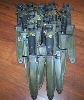 Knife M7 BOC Bayonet M8A1Scabbard Army Military Police Marine USMC & P38