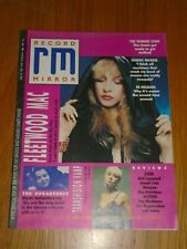 RECORD MIRROR 1988 APRIL 30 STEVIE NICKS GEORGE MICHAEL FLEETWOOD MAC SUGARCUBES