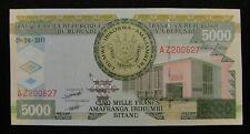 Burundi 5000 Francs Banknote 2011 UNC