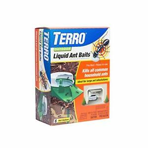 Outdoor Liquid Ant Bug Control Killer Poison Bait Stations Traps 6-Pack