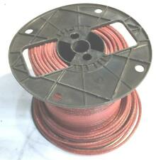 Red 12 AWG THHN Stranded Wire 7.6 LB Spool NOS