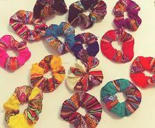 Hair Tie Scrunchies 5 Pack Colorful