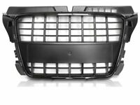 Front Grill Centre Grille AUDI A4 B7 from 2004 to 2008 S8-Look Glossy Black IT G