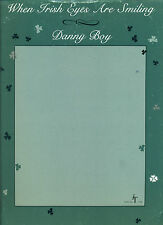"""""""WHEN IRISH EYES ARE SMILING & DANNY BOY"""" PIANO/VOCAL/CHORDS SHEET MUSIC RARE!!!"""