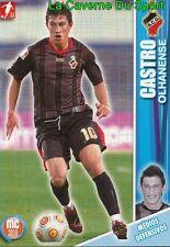 064 CASTRO PORTUGAL SC.OLHANENSE SPORTING GIJON CARD MEGACRAQUES 2010 PANINI