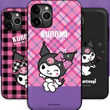 Genuine Kuromi Cutie Magnetic Door Bumper Case iPhone 6/6S iPhone 6/6S Plus Case