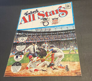 1971 BASEBALL UNCUT Dell All Stars Team Stamps Album COMPLETE w/ CLEMENTE~AARON+