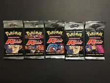1 x Pokemon Team Rocket Booster Pack - Unopened & Unweighed - Sealed
