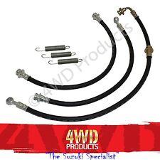 "60mm 2-3"" Extended Rubber Brake Line/Hose kit - Suzuki Jimny 1.3 (98+)"