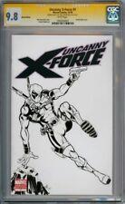 UNCANNY X-FORCE #1 CGC 9.8 SIGNATURE SERIES SIGNED KIRKPATRICK DEADPOOL SKETCH