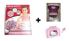 Hello Kitty Bracelet & Bead Set + Hello Kitty Vanity Case With Brush - REDUCED