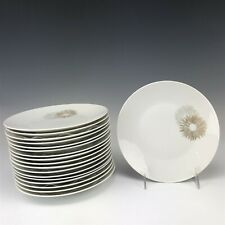 Set Of 18 Rosenthal Germany Raymond Lowey Sunburst MCM Porcelain Salad Plate SAM