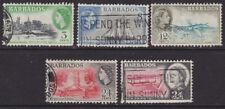 Pre-Decimal 5 British Postages Stamps