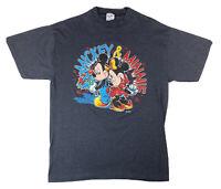 Vintage Minnie/Mickey Mouse Valentine's T-shirt, Lg/Fits Medium, Single Stitch