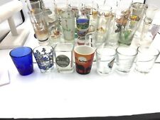 Lot of 37 Shot Glasses Casinos, Hard Rock, Movies, Travel
