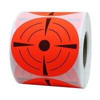 125pcs/Roll 3 inch Reactive Target Stickers for BB Pellet Air Gun Shooting