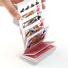 Magic Electric Deck of Cards Magician Prank Trick Close-up Stage Poker Prop Red