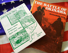BATTLE OF OKINAWA April - June 1945 US Army Marine Corps Two Book Set
