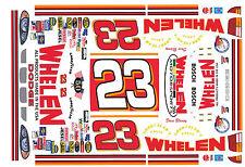 #23 Dave Blaney Dodge Whelen Motorsports 1/32nd Scale Slot Car Waterslide Decals