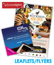 >>1000 x A6 Colour Flyers Leaflets / Printing Service - FREE P+P<<