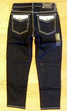 Tru Luxe San Francisco Mid Rise Skinny Crop Jeans Size 2/26 $120 Value!-CL0292
