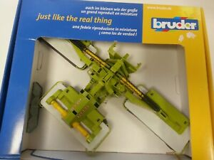 Bruder Farm  Claas  Disco 8550C Scale 1:16 Boxed Set Made in Germany #768