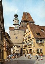 BT11995 Rothenburg ob der tauber markusturm           Germany