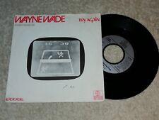 Wayne Wade - Try again     Vinyl  Single