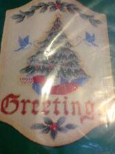 Needle Treasures,NDPNT ANTIQUE CHRISTMAS GREETINGS kIT,Sealed,LeClair,06818