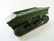 DINKY 162a LIGHT DRAGON TRACTOR. ARMY/MILITARY. VINTAGE. NO 'RING' TO BASE. RARE