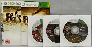 RAGE XBOX 360 GAME PAL 3 DISCS