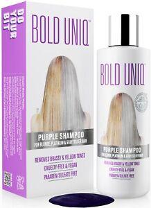 Official Store Bold Uniq Purple Shampoo for Blonde, Platinum & Silver Hair