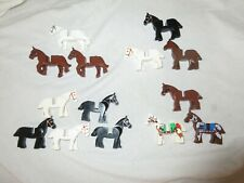 Lego horse for western knight castle Minifig figures please choose from list