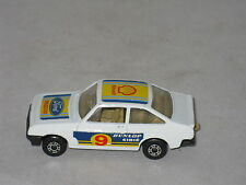 Lesney Matchbox Superfast Ford Escort RS2000 Diecast Car