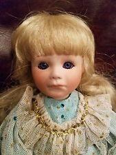 "Beautiful Porcelain doll by Phyllis Parkins 14"" Natasha 1991 #183"