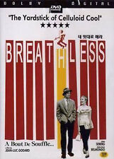BREATHLESS, A Bout De Souffle / Jean-Luc Godard, Jean-Paul Belmondo, 1960 / NEW