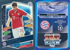 LIMITED EDITION -FIGURINA TOPPS CHAMPIONS LEAGUE 2016/17*BAYER MONACO-MULLER*NEW