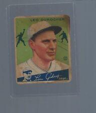1934 Goudey #7 Leo Durocher, St. Louis Cardinals, HOF
