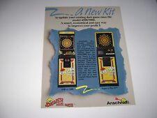 English Mark Darts 4500/5000 Arachnid Arcade Original sales flyer brochure