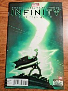 Infinity #4 of 6 Kubert Thor Cover Key 1st Thane Son of Thanos Avengers Marvel