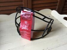 Rawlings Fast Pitch Softball Face Mask Nocsae Compliant Unused No Screws/Helmet