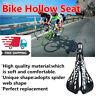 Plastic Bike Hollow Saddle Pad Seat Bicycle Cycling MTB Mountain Road Qj