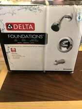 Delta Foundations B114915 Single-Handle 1-Spray Tub & Shower Faucet, Brand New