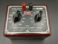 Cornell-Dubilier Decade Resistor Box Model Rdb