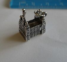 Sterling Silver 3D 11x15mm Mormon Temple in Salt Lake City Utah Charm