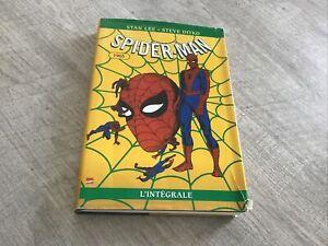 BD spider man spiderman l'integrale 1965 marvel France