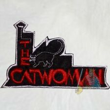 Batman The Catwoman Logo Embroidered Patch Super Powers Joker Penguin Comic Cat