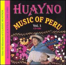Vol. 1-1949-89 - Huayno Music Of Peru (2009, CD NIEUW)
