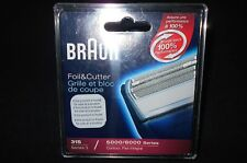 NOS Braun Replacement 31S Series 3 Foil and Cutter 5000/6000  Made in Germany